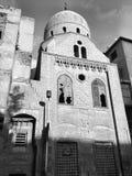 Moskee in oude oud van Kaïro Stock Fotografie