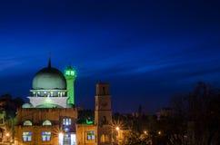 De Moskee van Annaser Stock Afbeeldingen