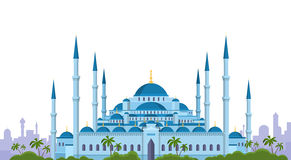 Moskee Ramadan Kareem Muslim Religion Holy Month Stock Afbeeldingen