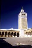Moskee Tunesië stock afbeelding