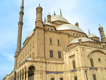 Moskee van Muhammad Ali Stock Afbeeldingen