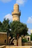 Moskee van Shirvan-Sjah, Baku, Azerbeidzjan Stock Fotografie