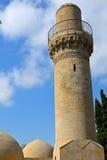 Moskee van Shirvan-Sjah, Baku, Azerbeidzjan Stock Afbeeldingen