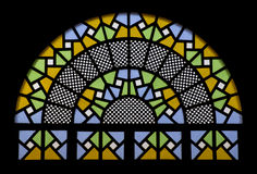 Moskee vitrail stock afbeeldingen