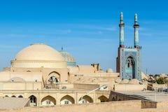 Moskee in Yazd Royalty-vrije Stock Fotografie