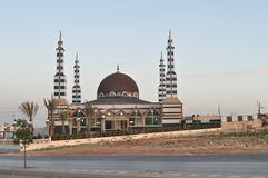 Moskee in Zuid-Amman, Jordanië Stock Foto's