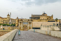 Moskeekathedraal van Cordoba, Spanje Stock Afbeeldingen