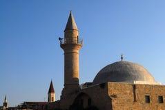Moskees in Israël Stock Afbeeldingen