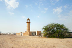 Moskeestruik en ruïnes Royalty-vrije Stock Foto's