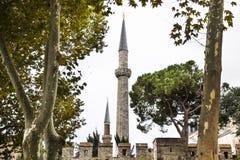 Moskeetoren in Istanboel Royalty-vrije Stock Afbeelding