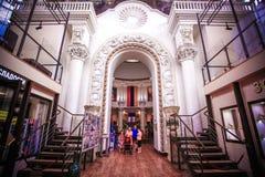 MOSKOU 8 AUGUSTUS 2014, Binnenlands in oud Royalty-vrije Stock Afbeelding