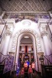 MOSKOU 8 AUGUSTUS 2014, Binnenlands in oud Stock Afbeeldingen