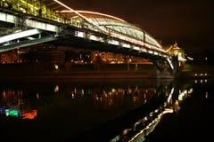Moskou. avond stock fotografie