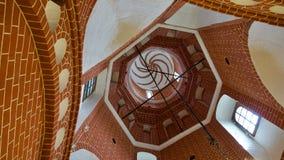 moskou Binnenland van St Basil's Kathedraal Royalty-vrije Stock Foto