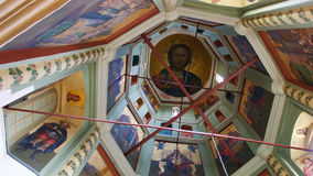 moskou Binnenland van St Basil's Kathedraal Royalty-vrije Stock Foto's