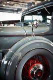 MOSKOU - BRENG 09, 2018 IN DE WAR: Packard Acht 1934 bij tentoonstelling Oldtim Royalty-vrije Stock Afbeelding