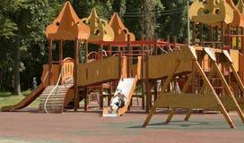 Moskou, Cherkizovsky-park Royalty-vrije Stock Afbeeldingen
