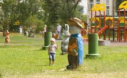 Moskou, Cherkizovsky-park Stock Afbeelding