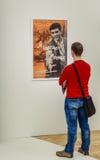 moskou De Dooi ` van de tentoonstellingstentoonstelling ` in de Tretyakov-Galerij Stock Fotografie