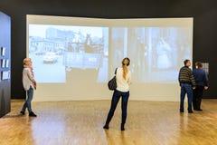 moskou De Dooi ` van de tentoonstellingstentoonstelling ` in de Tretyakov-Galerij Royalty-vrije Stock Fotografie
