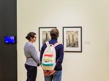 moskou De Dooi ` van de tentoonstellingstentoonstelling ` in de Tretyakov-Galerij Royalty-vrije Stock Afbeeldingen