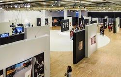 moskou De Dooi ` van de tentoonstellingstentoonstelling ` in de Tretyakov-Galerij Royalty-vrije Stock Foto