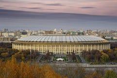 moskou De Grote Sportenarena Luzhniki stock foto's