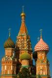 Moskou. De Kathedraal van het Basilicum van heilige Royalty-vrije Stock Fotografie
