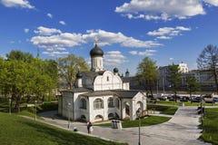 moskou De Kerk van de conceptie van Anne, het begin van de XVI eeuw, Zaryadye royalty-vrije stock foto