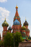 Moskou in de lente Stock Foto