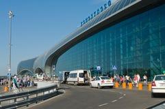 Moskou. De luchthaven van Domodedovo royalty-vrije stock afbeelding