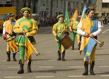 Moskou, festival Royalty-vrije Stock Afbeeldingen