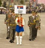 Moskou, festival Royalty-vrije Stock Afbeelding