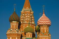 Moskou. Het fragment van de tempel Royalty-vrije Stock Fotografie