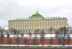 moskou Het grote Paleis van het Kremlin Stock Fotografie