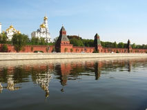Moskou, het Kremlin stock fotografie