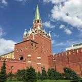 Moskou het Kremlin royalty-vrije stock afbeelding