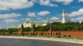 Moskou. Het Kremlin Stock Afbeeldingen