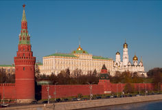 Moskou het Kremlin. Stock Foto's