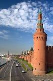 Moskou, het Kremlin Royalty-vrije Stock Afbeelding