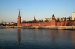 Moskou het Kremlin stock afbeeldingen