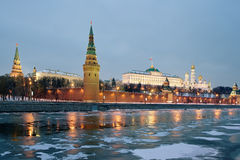 Moskou het Kremlin Royalty-vrije Stock Afbeeldingen