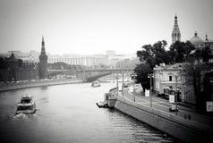 Moskou het Kremlin De Plaats van de Erfenis van de Wereld van Unesco Stock Afbeeldingen