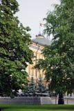Moskou het Kremlin De Plaats van de Erfenis van de Wereld van Unesco Stock Foto's