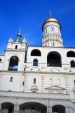 Moskou het Kremlin De Plaats van de Erfenis van de Wereld van Unesco Ivan Great Bell-toren Royalty-vrije Stock Foto's