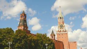 Moskou het Kremlin in de zomer van 2016 Royalty-vrije Stock Foto's