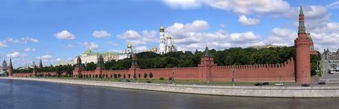 Moskou het Kremlin en het Grote Paleis van het Kremlin Stock Afbeelding