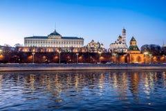 Moskou het Kremlin, het Grote Paleis van het Kremlin stock foto