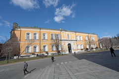 Moskou het Kremlin, het Arsenaal Stock Afbeelding