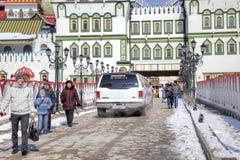 moskou Het Kremlin in Izmailovo Royalty-vrije Stock Foto